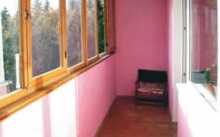 Какой краской лучше покрасить балкон и лоджию