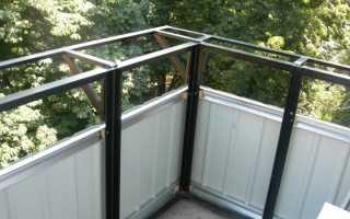 Отделка балкона снаружи своими руками по шагам