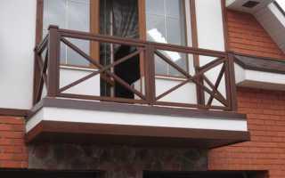Ремонт и замена парапета для балкона своими руками, изготовление перил