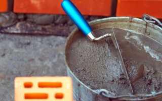 Сколько цемента нужно на 1 куб раствора