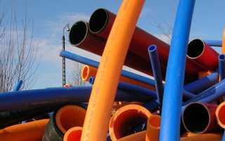 Пластиковые трубы: основные виды