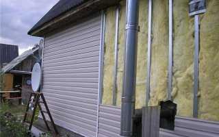 Технология утепления фасадов минеральной ватой