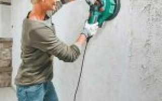Покраска бетонной стены без шпаклевки