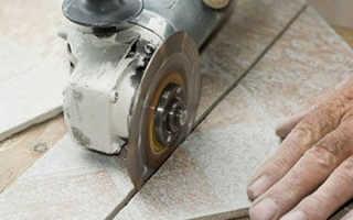 Чем резать керамогранит; обзор необходимых инструментов