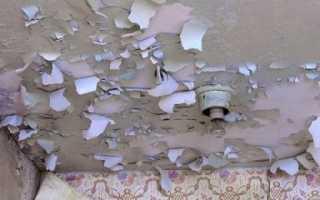 Без пыли, шума и нервов, или как снять краску с потолка самостоятельно