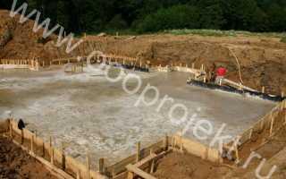 Подушка под фундаментную плиту песчаная, подсыпка щебнем, подложка из пенопласта