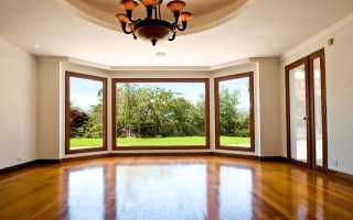 Размер окон в частных домах