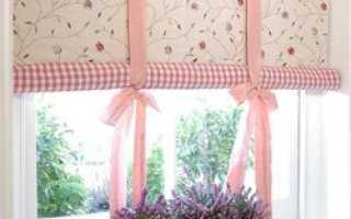 Рулонные шторы: как легко сделать их своими руками