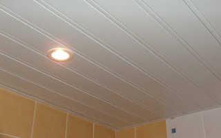 Потолок в ванной; особенности выбора материала и способа отделки
