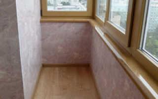 Чем отделать балкон внутри своими руками чтоб вышло дешево