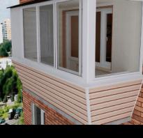 Отделка балконов и лоджий профнастилом