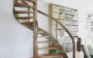 Как рассчитать винтовую лестницу; размеры лестничного марша и ступеней