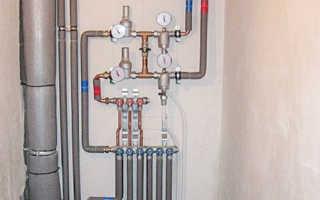 Утепление водопроводных труб ХВС