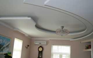 Фигурные потолки из гипсокартона: преимущества и недостатки конструкции, идеи дизайна