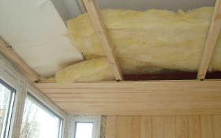 Как утеплить потолок на балконе своими руками – пошаговая инструкция