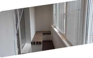 Высота балкона до окна; какой должна быть