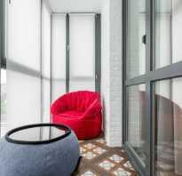 Особенности размещения кресла на балконе, подходящие модели мебели