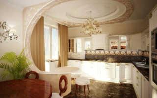 Узоры из гипсокартона на потолках и на стенах