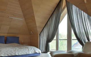 Шторы на треугольные окна: идеи дизайна