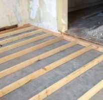 Крепление лаг к бетонному полу: рубрика ответы на вопросы читателей