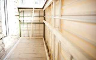 Как правильно сделать обрешетку на балконе