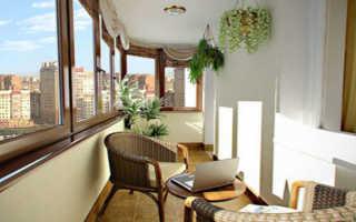 Ремонт балкона (лоджии) своими руками: подробная инструкция