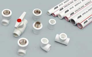 Применение фитингов для соединения полипропиленовых труб