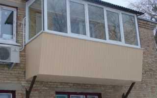 Как увеличить балкон своими руками