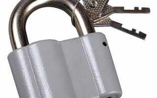 Какими методами открывают замки, оснащенные полукруглым ключом