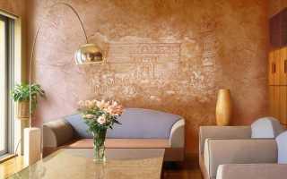 Технология отделки стен декоративной штукатуркой своими руками