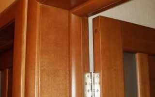 Монтаж доборов для двери
