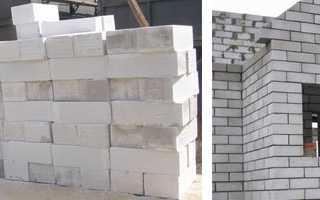 Блоки стеновые из ячеистого (пористого) бетона