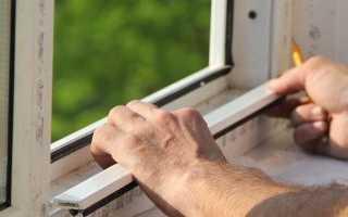 Как правильно замерять оконный проём под пластиковые окна