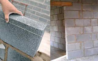 Лучшее решение для перегородок; полистиролбетонные блоки: все размеры плюс инструкция по кладки на клей
