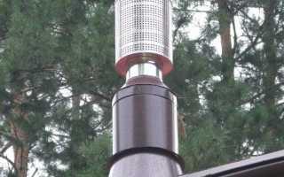 Искрогаситель на дымоход; это необходимо