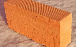 Какой вес у красного полнотелого кирпича с параметрами 250х120х65 мм