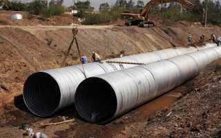 Трубы большого диаметра: изделия для магистральных трубопроводных линий