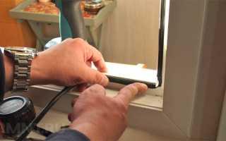 Ремонт, регулировка и; обслуживание пластиковых ПВХ-окон своими руками