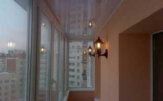 Как самостоятельно провести свет на балкон и лоджию