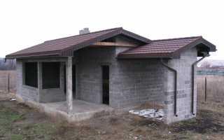 Баня из керамзитобетонных блоков своими руками: пошаговая инструкция и лучшие проекты с 52 фото и 2 видео