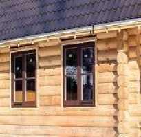 Размеры окна в деревянном доме: оптимальный размер